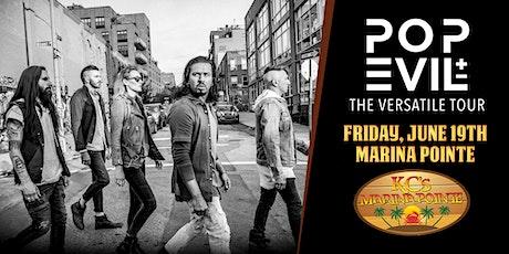 Pop Evil LIVE at KC's Marina Pointe! tickets