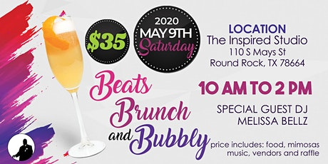 Beats, Brunch and Bubbly tickets