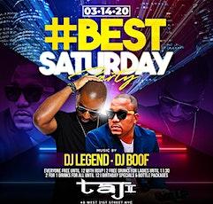 BEST SATURDAY PARTY at TAJ - #LiveByNight tickets