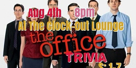 The Office Trivia (S: 1-7) tickets