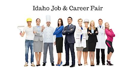 Idaho Job & Career Fair August 12th tickets
