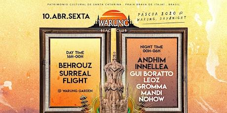 Warung Beach Club - Feriado de Páscoa ingressos
