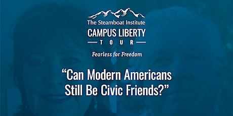 """""""Can Modern Americans Still Be Civic Friends?"""" tickets"""
