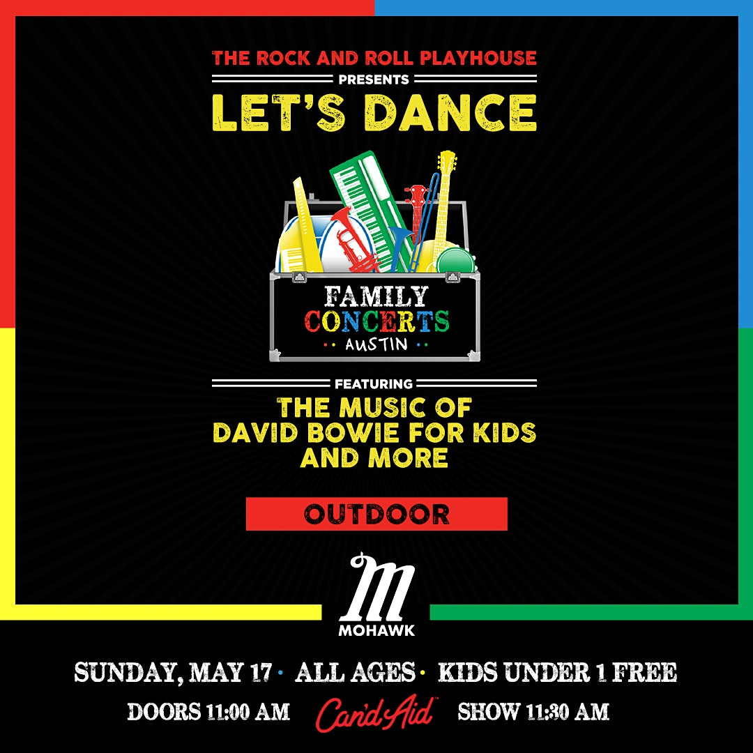 POSTPONED: Let's Dance ft. Music of David Bowie for Kids and More