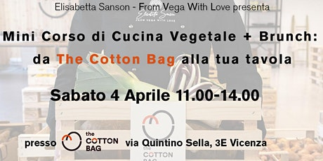 Corso di Cucina Vegetale + Brunch: da The Cotton Bag alla tua tavola #1 tickets