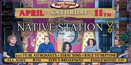 Native Station w/ To Be Astronauts + Stray Suns + Race to Neptune tickets
