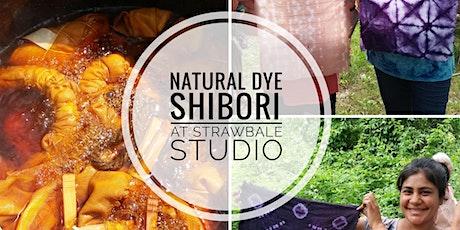 Natural Dye Shibori at Strawbale Studio tickets