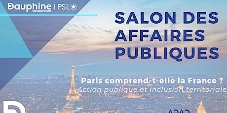 Salon des Affaires Publiques 2020 billets
