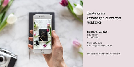 Instagram Strategie & Praxis Workshop Tickets