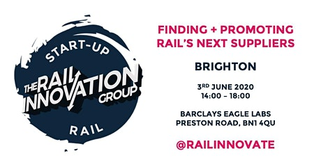 Start Up Rail - Brighton tickets