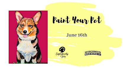 Paint Your Pet @WBC tickets