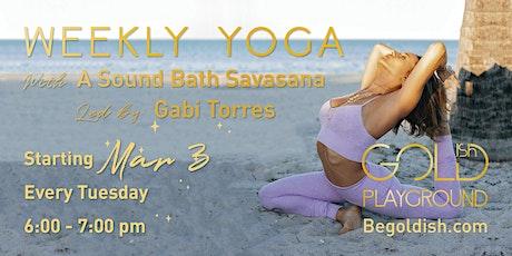 Yoga Class with Gabi Torres tickets