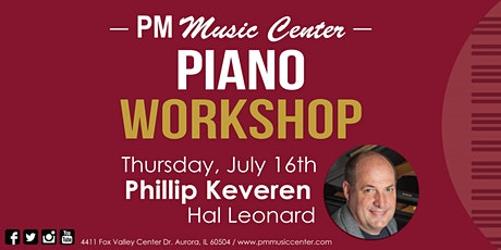 Piano Workshop w/ Phillip Keveren from Hal Leonard - CANCELLED tickets
