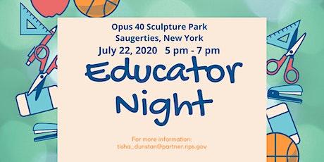 Educator Night (at Opus 40) tickets