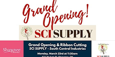 Ribbon Cutting & Grand Opening - SCI Supply tickets