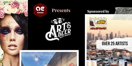 Art & Beer Night Market LA tickets