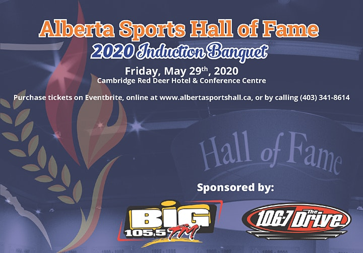 Alberta Sports Hall of Fame Induction Banquet image