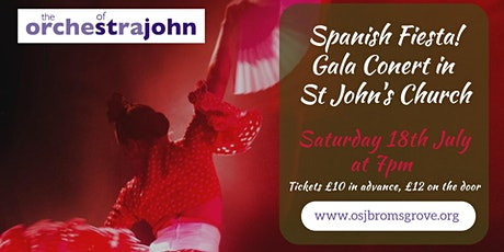 "OSJ Gala Concert ""Spanish Fiesta"" to close Bromsgrove Festival 2020 tickets"