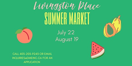 SUMMER MARKET –  LIVINGSTON PLACE tickets