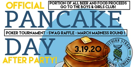 Pancake Day Poker Tournament Fundraiser  tickets
