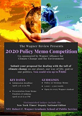 2020 Policy Memo Competition tickets