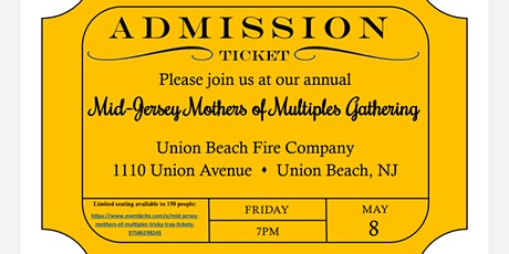 Mid Jersey Mother's of Multiples Gathering tickets
