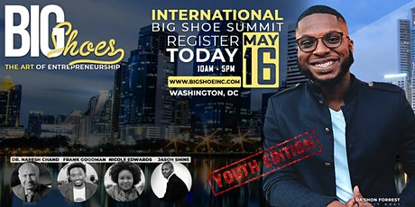 "International Big Shoe Summit  ""The Art of Entrepreneurship""  YOUTH EDITION tickets"
