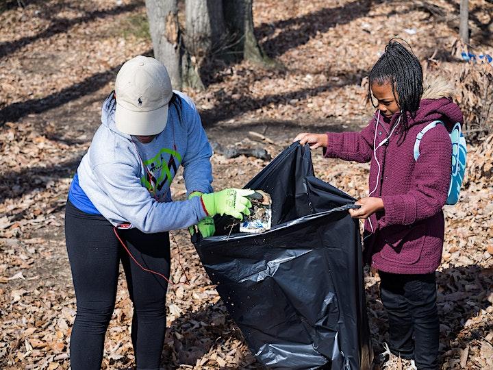 Shepherd Parkway Community Clean-Up image