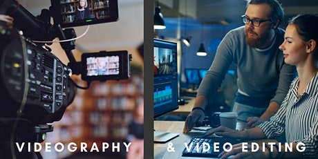 POSTPONED: 2 in 1: Videography & Editing tickets