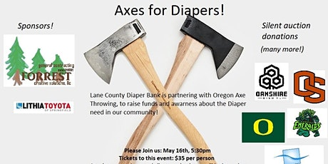 Axes For Diapers tickets