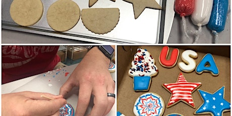 4th of July Sugar Cookies at Fran's Cake and Candy Supplies tickets