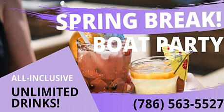 All Inclusive Miami Booze Cruise! tickets