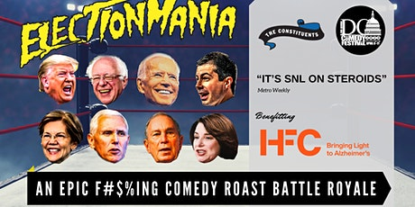 Rescheduled | DC Comedy Festival: ElectionMania by The Constituents tickets