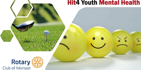 Hit4 Youth Mental Health Charity Golf Day 2020 tickets