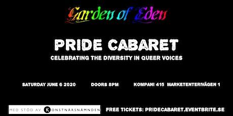 Pride Cabaret tickets