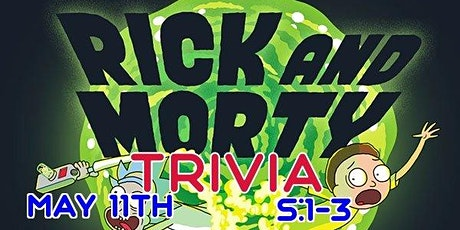 Rick and Morty Trivia. S:1-3 @ The Back Bar tickets