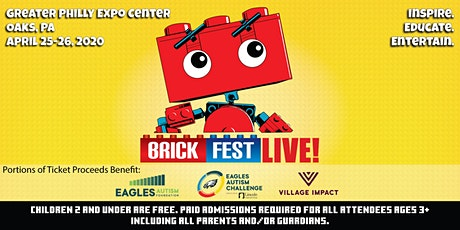 *NEW 2021 DATES* Brick Fest Live (Philadelphia, PA) tickets