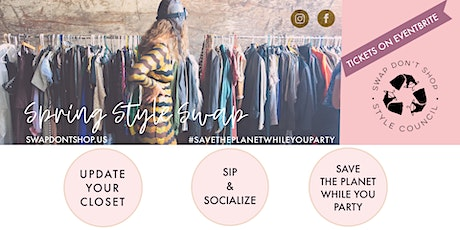 Spring Style Swap tickets