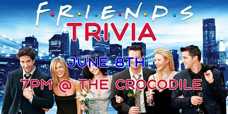 Friends Trivia Night @ The Back Bar tickets