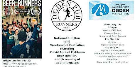 National Pub RUN (Ogden Marathon) and Weekend Festivities tickets