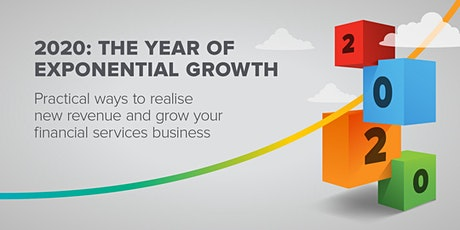 2020: The Year of Exponential Growth   Webinar tickets