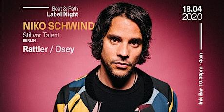 Beat & Path presents: Niko Schwind (Stil vor Talent/Berlin) tickets
