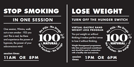 Stop Smoking/Lose Weight with Owen Patterson tickets