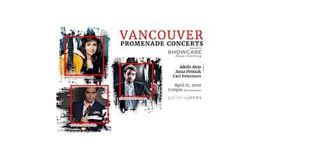 Vancouver Promenade Concerts:  Adolfo Alejo, Anna Pietrzak, Carl Petersson tickets