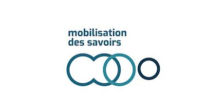 Journée Mobilisation des savoirs 2020 tickets