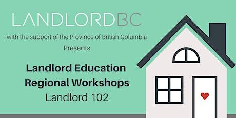 Landlord 102 - Regional Education, Terrace tickets