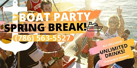 #BOAT PARTY! :) All Inclusive! Fun onboard!! entradas