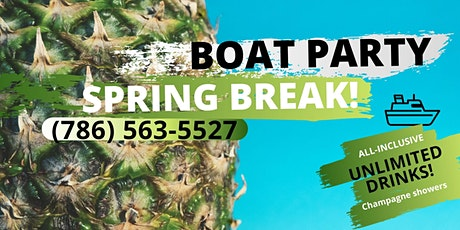 The best #BOAT PARTY in Miami! tickets