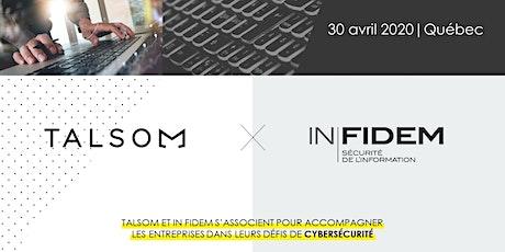 Formation en cybersécurité | 30 avril 2020 | Québec billets