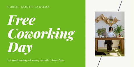 Free Coworking Day at Surge South Tacoma tickets